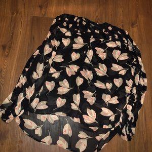 Lucky brand xl blouse